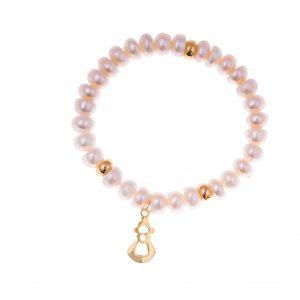 Pulsera Manchega, perlas