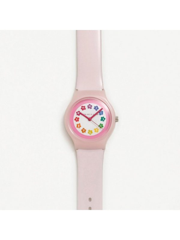 Reloj Agatha Ruiz de la Prada, Nubes Rosa. AGR238. lubeljoyeria.com