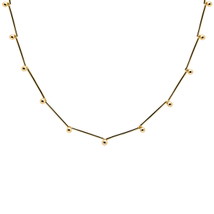 Colgante PD Paola, Aurora Gold, fabricado en plata con un baño de oro. Lubeljoyeria.com