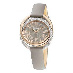 Reloj Swarovski, Dou Correa Piel Gris 5484382