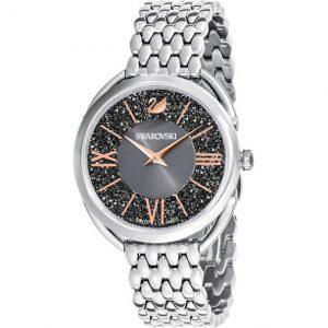 Reloj Swarovski, Crystalline Glam, Gris Plata 5452468. Lubeljoyeria.com