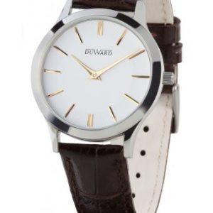 Reloj Duward, Mujer Elegance Mtindo, en acero con correa de piel. D15103.01. Lubeljoyeria.com