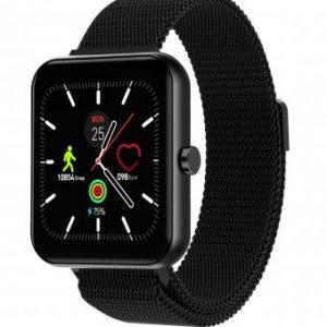 Reloj Duward, SmartWatch Dsw002. Correa Malla acero IP Negro. DSW002.22. www.lubeljoyeria.com
