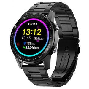 Reloj Duward, SmartWatch Dsw001. Con correa de acero IP Negro. DSW001.32. www.lubeljoyeria.com