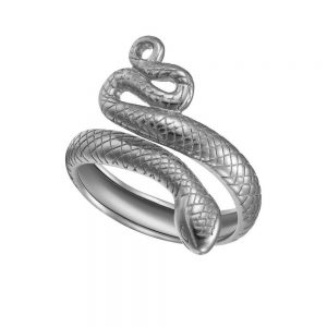 Anillo Lubel, Snake. Plata 1ª Ley 925 y baño de oro 18k. www.lubeljoyeria.com