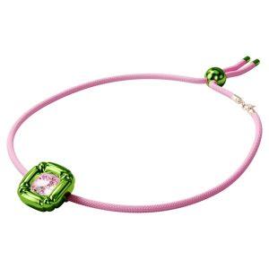 Colgante swarovski dulcis, rosa y verde. 5601585.