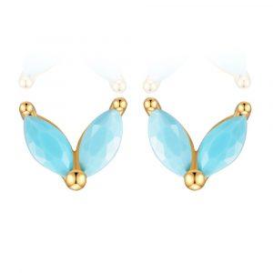 Pendiente Mariposa Turquesa